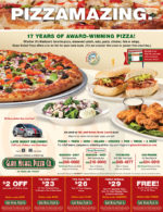 Glass Nickel Pizza coupons in the august 2016 issue of Dollars & Sense magazine