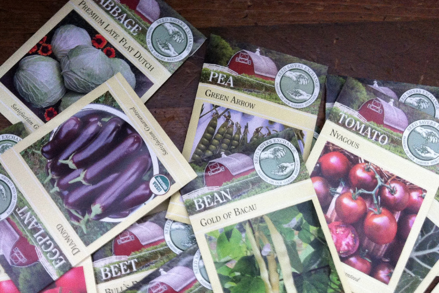 purchase seeds? time for gardening!