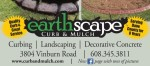 Earthscape Curb and Mulch
