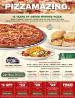 Glass Nickel Pizza coupons madison wi