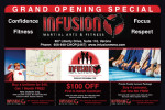 infusion martial arts coupons
