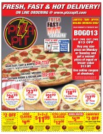 Pizza Pit East Coupons