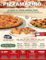 Glass Nickel Pizza Coupons