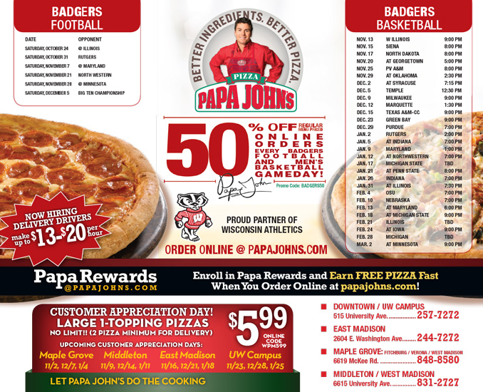 5-dollar-papa johns coupons. by ryan on November 1, Sponsored Sponsored. FREE – Get your New Printable free Coupons Below Instantly! ** Enter Your Name & Email To Get Updated Coupons ** Name: Email: Pizza Hut Savings For ; SEARCH HERE. Coupons Categories.