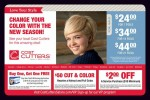 Cost Cutters coupons in the March 2016 Dollars and Sense Magazine