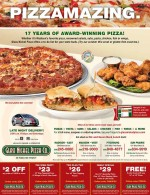 Glass Nickel Pizza coupons in the March 2016 Dollars and Sense Magazine