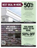 Leafguard of Madison coupons in March 2016 Dollars and Sense Magazine
