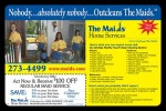 The Maids coupons in the March 2016 Dollars and Sense Magazine