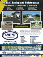 Bartlett Asphalt Paving coupons in May 2016 Dollars & Sense Magazine Madison Wisconsin