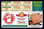 Bucks Pizza coupons in May 2016 Dollars & Sense Magazine Madison Wisconsin