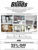 Budget Blinds coupons in May 2016 Dollars & Sense Magazine Madison Wisconsin