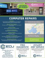 EDJ Computing coupons in May 2016 Dollars & Sense Magazine Madison Wisconsin