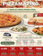 Glass Nickel Pizza coupons in May 2016 Dollars & Sense Magazine Madison Wisconsin