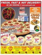 Pizza Pit East coupons in May 2016 Dollars & Sense Magazine Madison Wisconsin