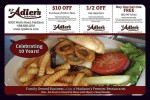 RP Adler's Pub & Grill coupons in May 2016 Dollars & Sense Magazine Madison Wisconsin