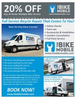 The BikeMobile Full Service Bicycle Repair coupons in May 2016 Dollars & Sense Magazine Madison Wisconsin