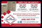 The Groutsmith coupons in May 2016 Dollars & Sense Magazine Madison Wisconsin