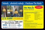 The Maids cleaning coupons in May 2016 Dollars & Sense Magazine Madison Wisconsin