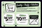 Agrace Thrift Store coupons in the August 2016 issue of Dollars & Sense Magazine