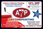 Anytime Painting coupons in the August 2016 issue of Dollars & Sense Magazine