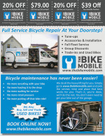 The BikeMobile coupons in the August 2016 issue of Dollars & Sense Magazine