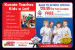 Black Belt America martial arts karate coupons in the August 2016 issue of Dollars & Sense Magazine