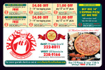 Buck's Pizza coupons in the August 2016 issue of Dollars & Sense Magazine