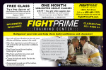 FightPrime Training Center coupons in the August 2016 issue of Dollars & Sense Magazine