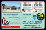Fox Water coupons in the August 2016 issue of Dollars & Sense Magazine