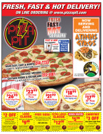Pizza Pit East coupons in August 2016 issue of Dollars & Sense Magazine