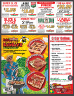 Rocky Rococo's coupons in August 2016 issue of Dollars & Sense Magazine