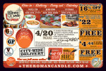 Roman Candle coupons in the August 2016 issue of Dollars & Sense Magazine