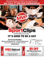 SportClips East Madison coupons in August 2016 Dollars & Sense Magazine