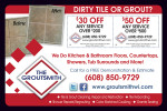 The Groutsmith coupons in the August 2016 issue of Dollars & Sense Magazine