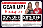 University Book Store coupons in the August 2016 issue of Dollars & Sense Magazine