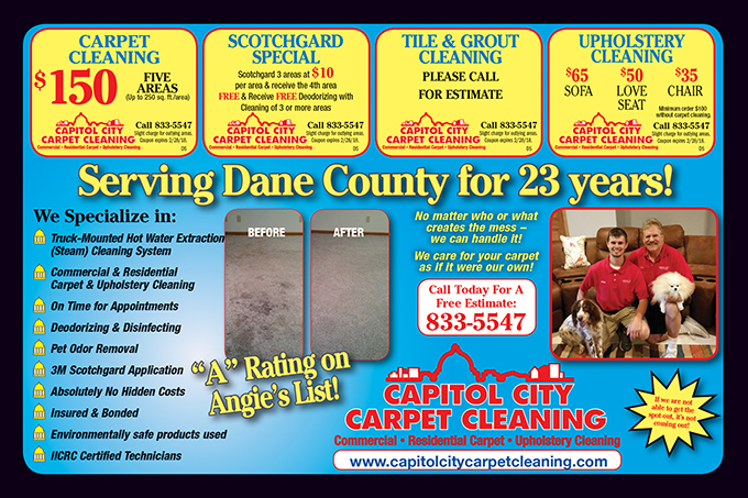 1117 Capitol City Carpet Cleaning