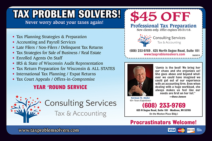 0318 Consulting Tax Services