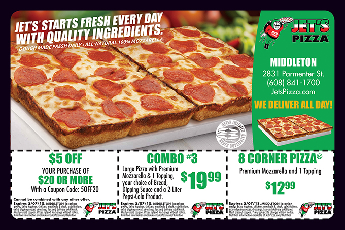 Find the best Jet's Pizza coupons, promo codes and deals for December All coupons hand-verified and guaranteed to work. Exclusive offers and bonuses up to % back!