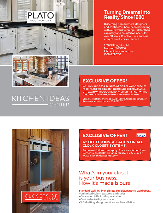 Kitchen Ideas Center And Closets Of Madison