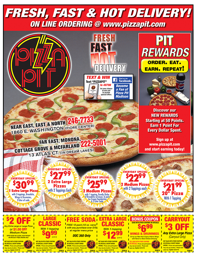 pizza pit coupons ames ia